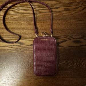 Love & Lore Crossbody Phone Bag - Burgundy